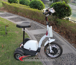 Three Wheel Electric Scooter pictures & photos