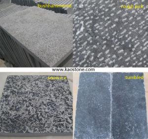 Bushhammered Blue Limestone for Floor Tile pictures & photos