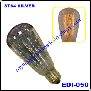 Absolutely New Silver Shinning Vintage Edison Bulb (EDI-050)
