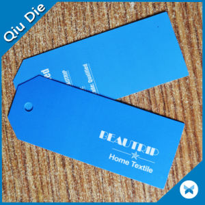 Custom Printed Solid Color Brand Label /Bag Hang Tags pictures & photos