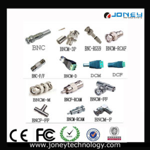 Full Copper Pin CCTV Cable BNC Connector/BNC Plug pictures & photos