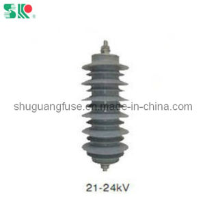 Metal Oxide Surge Arrester with 21kv-24kv (YH5W-21, YH10W-21) pictures & photos