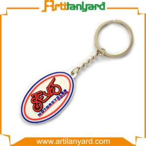 Customized PVC Key Ring with 3D Logo pictures & photos