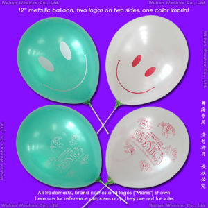 Inflatable Rubber Helium Metal-Shining Balloon for Children Playing Toy pictures & photos