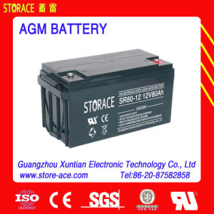 12V 80ah UPS / SMF AGM Battery Suplier pictures & photos