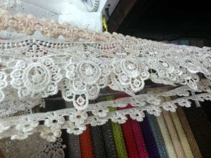 2016 Popular Color for Ladies Embroidery Lace
