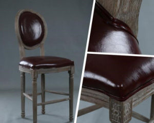 Solid Wooden Dining Chairs Bar Stool (M-X2048) pictures & photos