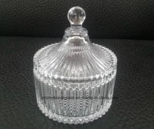 New Glass Candle Jar, Yurt Shaped Candle Jar