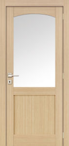 Oak Veneer Composite 2 Panel Stile and Rail Shaker Door pictures & photos