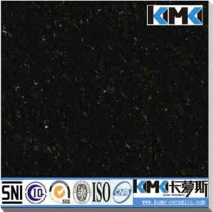 Black Crystal Tile with Golden Dots (CPA6039)