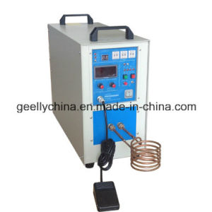 Portble 25kw High Frequency Induction Heating Welding Machine for Heating &Brazing Small Parts pictures & photos