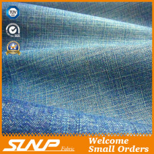 Non- Stretch Cotton/Polyester Slub Denim Fabric