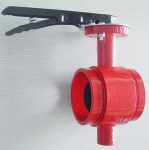 Shouldered Butterfly Valve pictures & photos