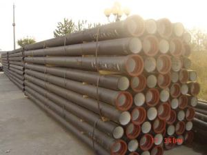 Ductile Cast Iron Pipes for Water Supply K9 pictures & photos