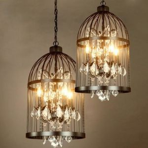 Traditional Lanterms Chandelier Lamp with Crystals (WHG-332) pictures & photos