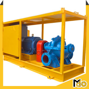 Large Flow Flood Double Suction Water Pump pictures & photos