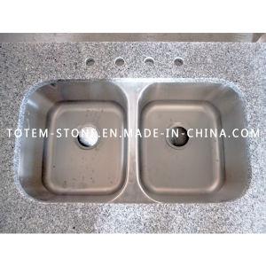 China granite double vanity wash basin sink for kitchen - Double wash basin bathroom ...