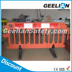 Portable Road Traffic Barrier, Plastic Traffic Road Barrier for Safety pictures & photos