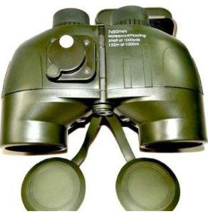 Military Navigation 7X50 Binoculars High-Powered HD Compass Ranging Telescope pictures & photos