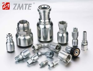 CNC Manufacturing Superior Quality Hydraulic Hose Ferrule Hydraulic Fittings pictures & photos