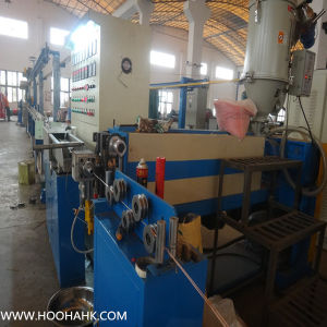 Leading High Quality PVC/PE Power Wire Extruder Machine pictures & photos