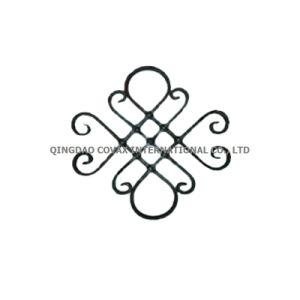 Wrought Iron Flower Panel 11034 Wrought Iron Rosette pictures & photos