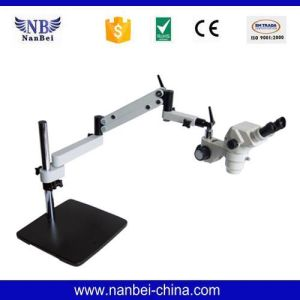 Gl+V7 China Adjustable Price LCD Digital Lab Microscope pictures & photos