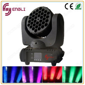 Guangzhou Factory 37 3W LED Moving Head Beam Light (HL-005) pictures & photos
