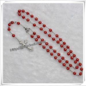 Cross Beads Plastic Rosary Jesus Cross Pendant Rosary (IO-cr232) pictures & photos