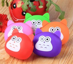 Coulorful Eco-Friendly Fashionable Silicone Coin Bag pictures & photos