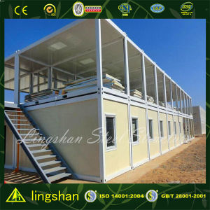Two Floor High Quality Modern Container Living Home pictures & photos