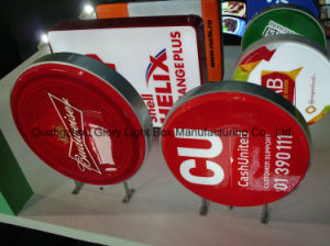 Advertising Round Silk Screen Wall Hanging Acrylic Signage pictures & photos