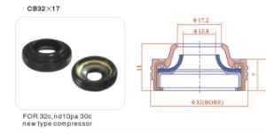 Auto A/C AC Compressor Shaft Lip Seal for 10PA30c pictures & photos