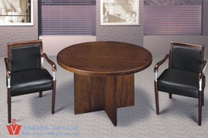 2 Person Round School Office Discussing Desk (WP1-2016)