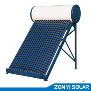 80L/100L/200L/300L Nonpressure Compact Colr Steel Solar Water Heater pictures & photos