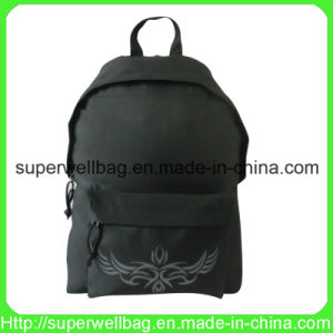 Simple Style Cheap Backpack Bag for School/Sports