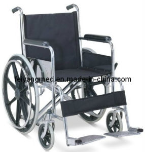 Chromed Steel / Folding Wheel Chair pictures & photos