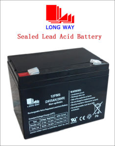 12FM5 Sealed UPS Power Solar VRLA Gel Battery with High Discahrge Rate pictures & photos