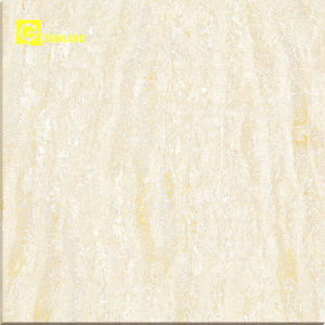 Ivory Color Polished Finish Vitrified Floor Tile for Designs pictures & photos