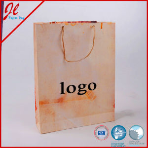 White Recycled Printed Paper Bags for Furniture Propaganda pictures & photos