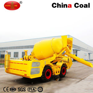 1cbm Self Propelled Concrete Mixing Truck pictures & photos