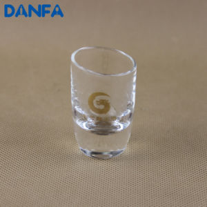 20ml Shot Glass with Gold Foil Logo (SG017)