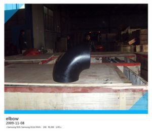 90 Degree Carbon Steel Pipe Long Elbow pictures & photos