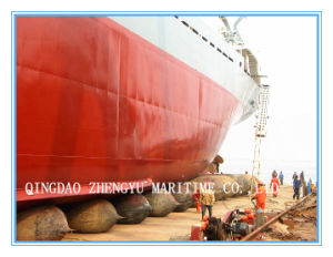 Ship Launching Inflatable Rubber Airbag