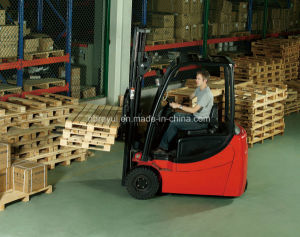 1.3-2t 3-Wheel Electric Forklift pictures & photos