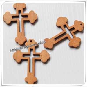 Cheap Religious Rosary Parts Wooden Cross (IO-cw007) pictures & photos