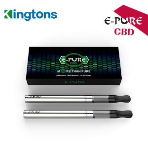 2016 Kingtons Upgraded 044 E-Pure Cbd Starter Kit Atomizer Electronic Cigarette pictures & photos