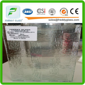5.5mm 6mm 8mm Clear Idyllic Patterned/Rolled/Figured Art Glass pictures & photos