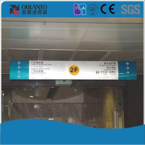 Aluminium Double Sides Cambered Brand Sign pictures & photos