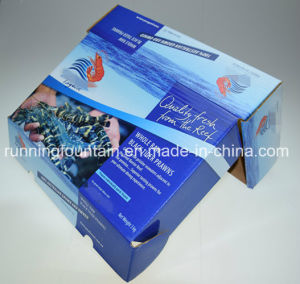 Four Colors Printing Corrugated Cardboard Box